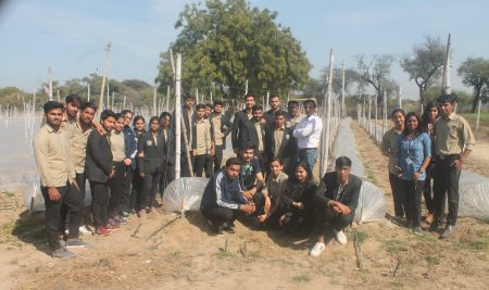 Educational Tour to Regional Research Station and College of Agriculture Bawal (Rewari)