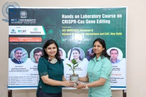 HANDS ON LABORATORY COURSE ON CRISPR-Cas GENE EDITING